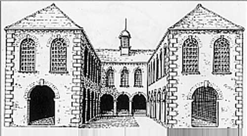 The first white cloth hall, Leeds