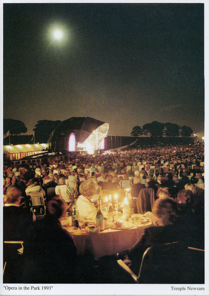 A photo from Opera in the Park, Temple Newsam, 1993.